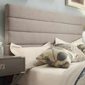 Horizontal liner headboard